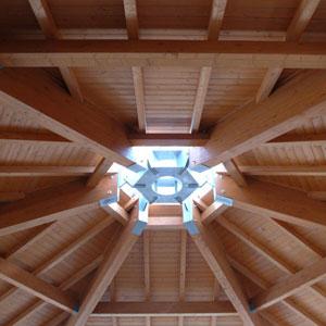 coperture legno capannoni bologna modena