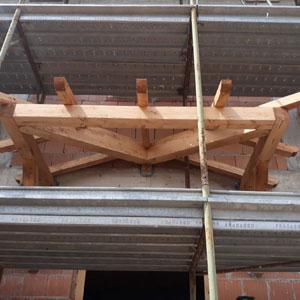 progettazione pensiline in legno modena bologna