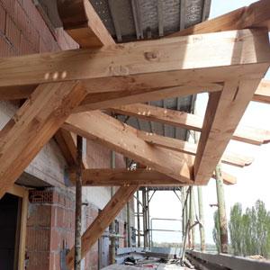 realizzazione pensiline in legno su misura modena bologna