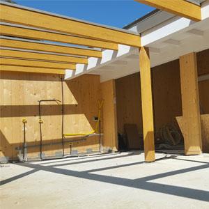 realizzazione tettoie in legno preventivo modena bologna