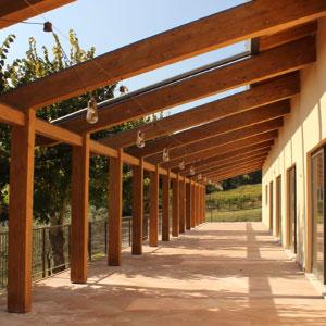 tettoie porticati in legno modena bologna prezzi costi