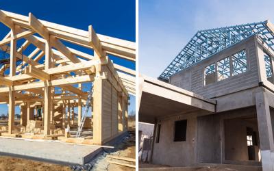 Case in legno e case in cemento: caratteristiche a confronto