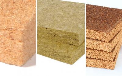 Fibra di legno, lana di roccia e sughero: le proprietà dei materiali isolanti per le case in legno